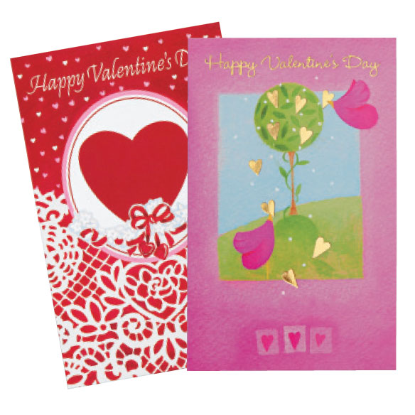 Valentine's Day Card Assortment, Set of 24 - View 4