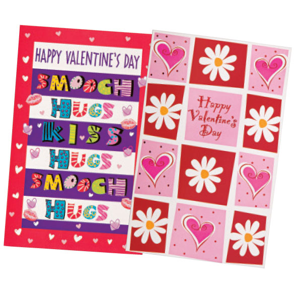 Valentine's Day Card Assortment, Set of 24 - View 5