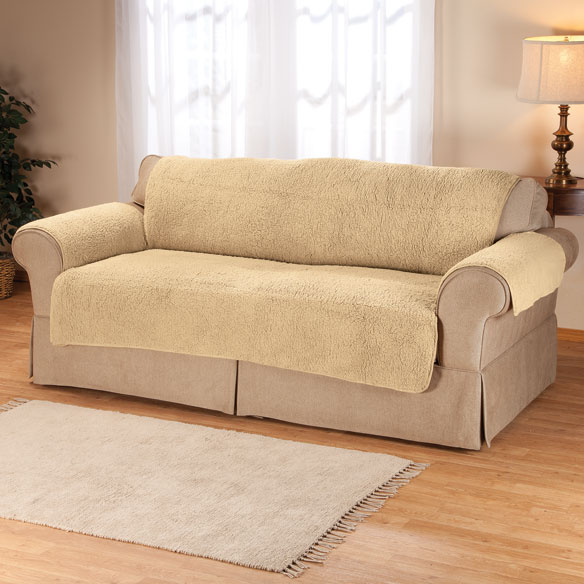 Sherpa Sofa Protector by OakRidge™ Comforts - View 4