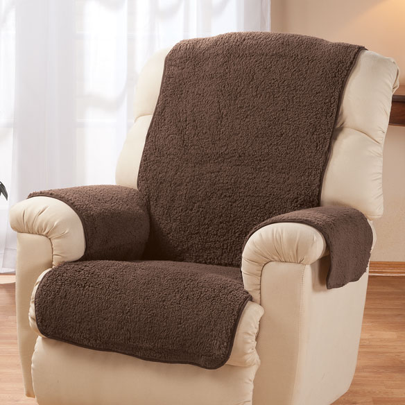 Sherpa Recliner Protector by OakRidge Comforts™ - View 3