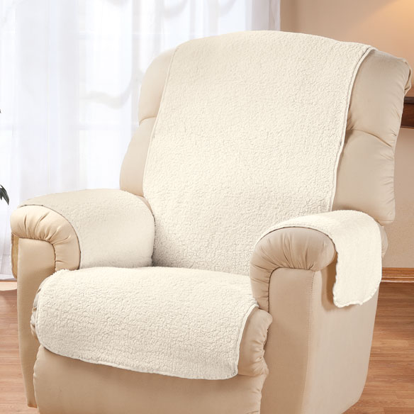 Sherpa Recliner Protector by OakRidge Comforts™ - View 5