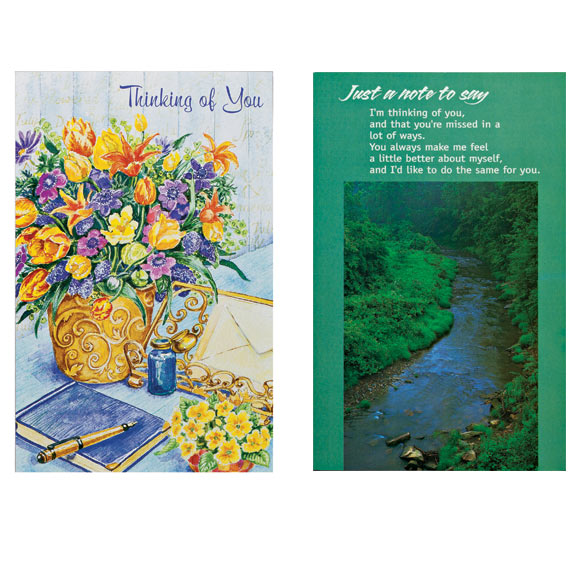 Thinking of You Cards, Value Pack of 24 - View 4