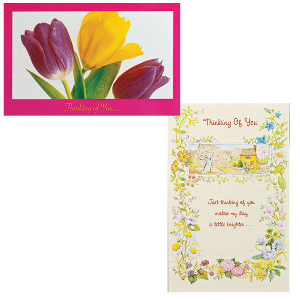 Thinking of You Cards, Value Pack of 24 - View 5