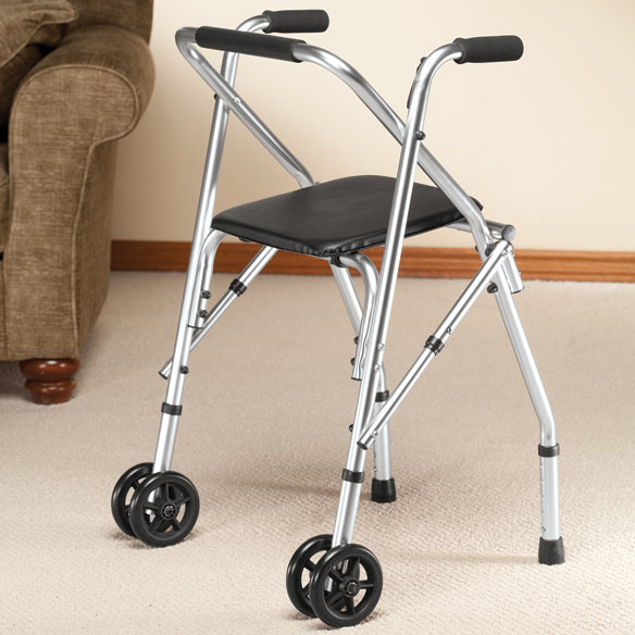 Walker with Seat - View 4