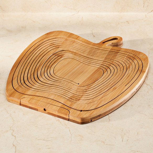 2-in-1 Bamboo Basket & Trivet - View 2
