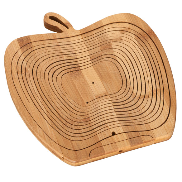 2-in-1 Bamboo Basket & Trivet - View 4