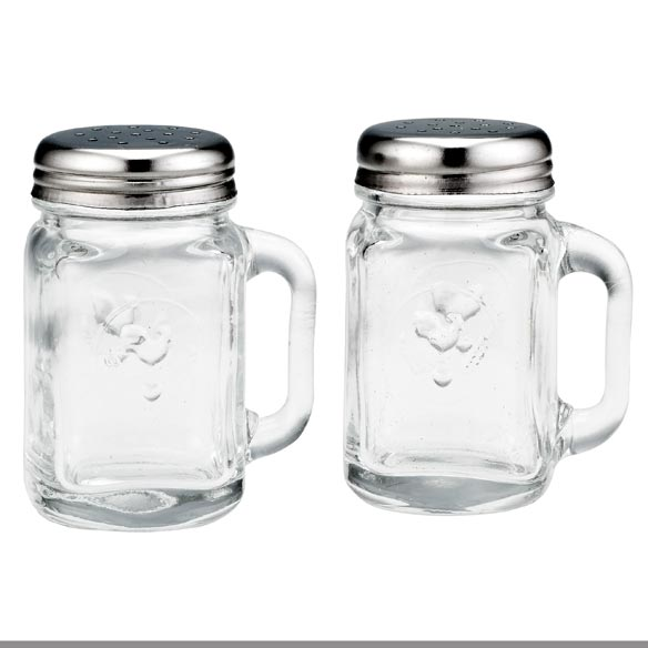 Mason Jar Salt & Pepper Shakers - View 2