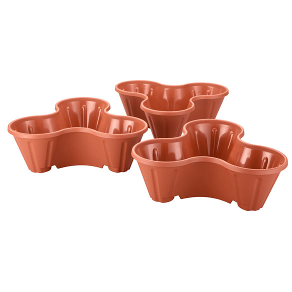 Stackable Planters, Set of 3 - View 4