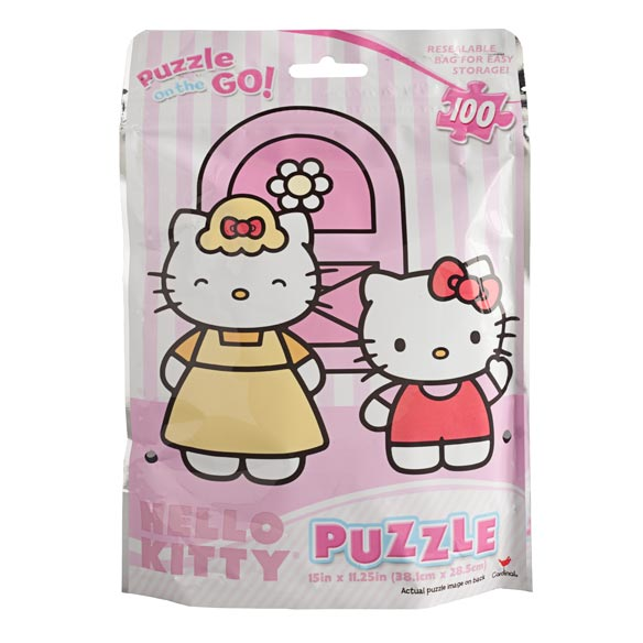 Hello Kitty® 100 Piece Foil Puzzle - View 2