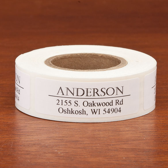 Personalized Bold and Centered Address Labels, 200 - View 2