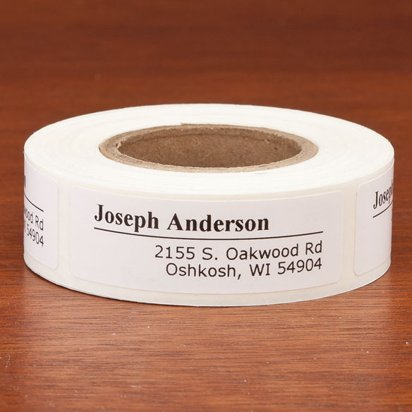 Personalized Off-Centered Address Labels, 200 - View 2