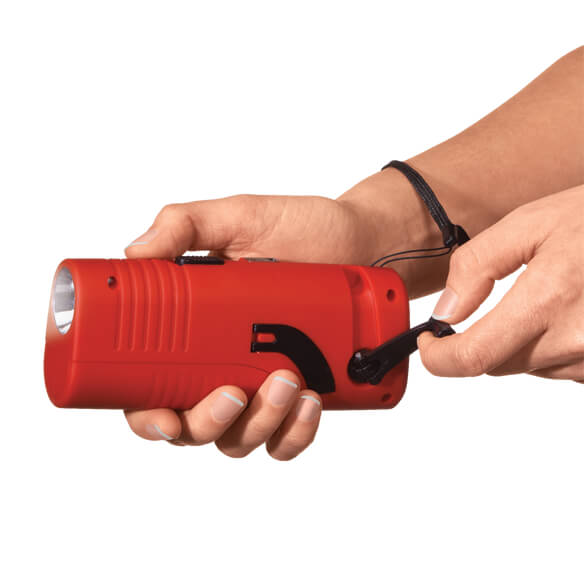 LivingSURE™ Deluxe Emergency Flashlight Radio - View 2