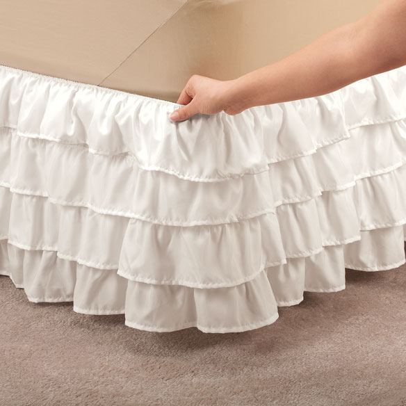 Layered Bed Ruffle by OakRidge™ Comforts - View 2
