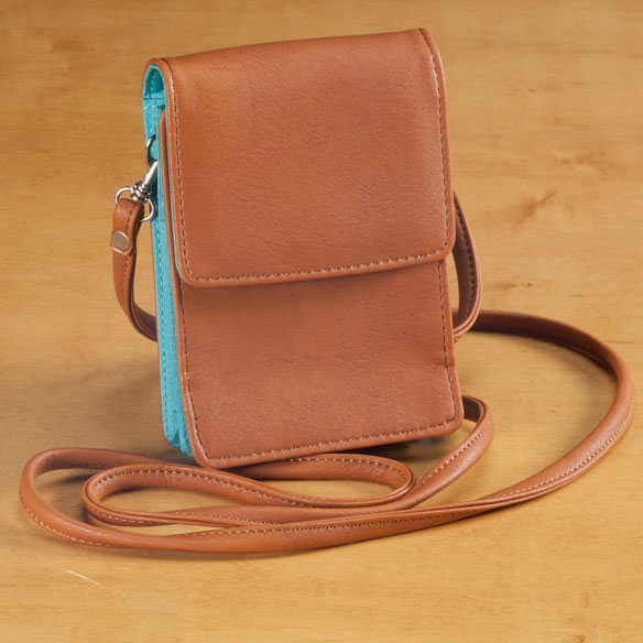 RFID Blocking On-The-Go Crossbody Bag - View 2