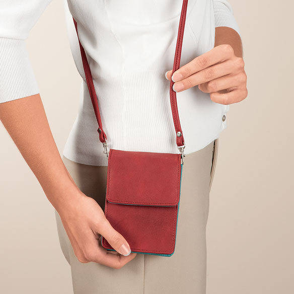 RFID Blocking On-The-Go Crossbody Bag - View 5