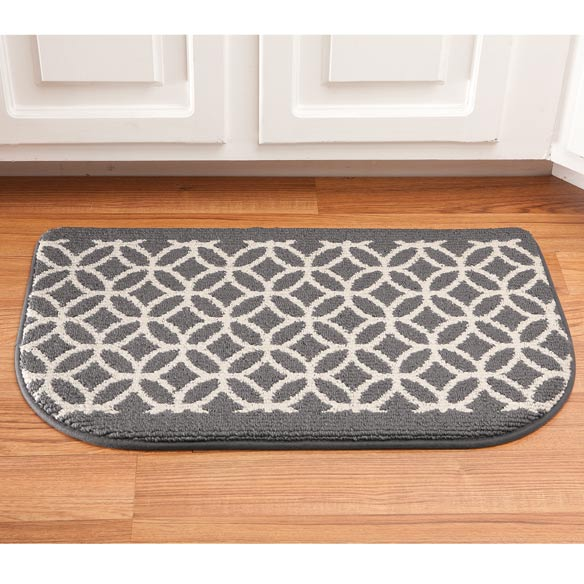 "Memory Foam Wedding Ring Rug Slice 18"" x 30"" - View 2"