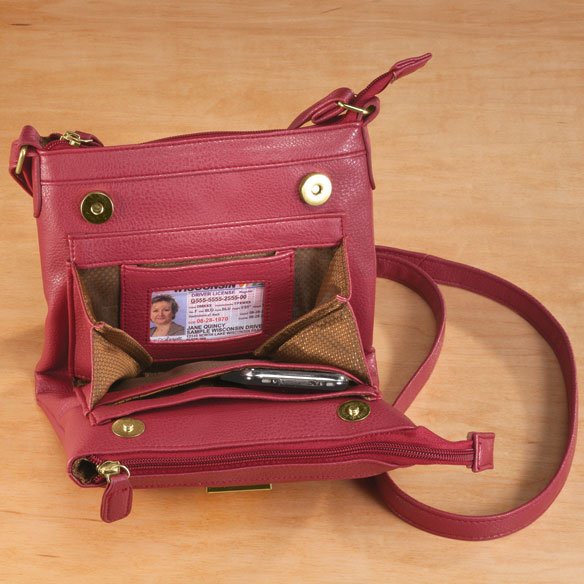 2-in-1 Practical Style Crossbody Bag - View 4