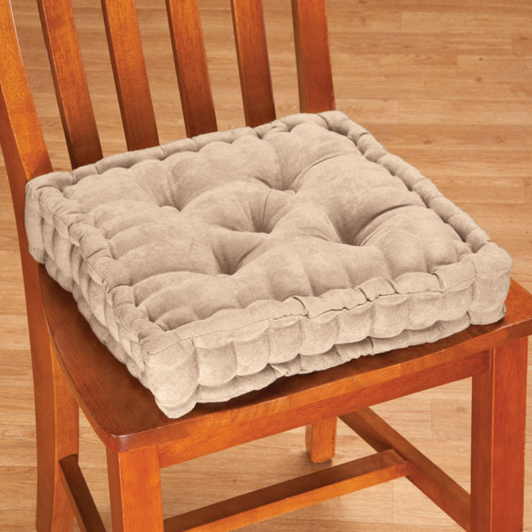 Tufted Booster Cushion - View 3