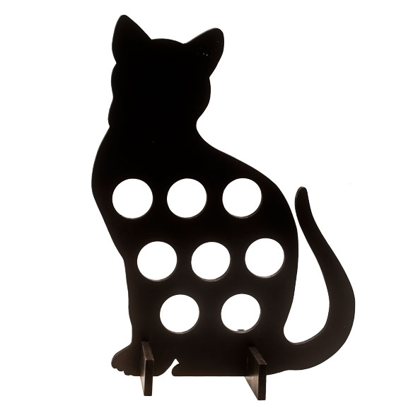 Cat Silhouette Coffee Pod Holder - View 2