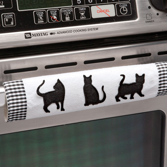 Cat Appliance Handle Covers - Set of 3 - View 2