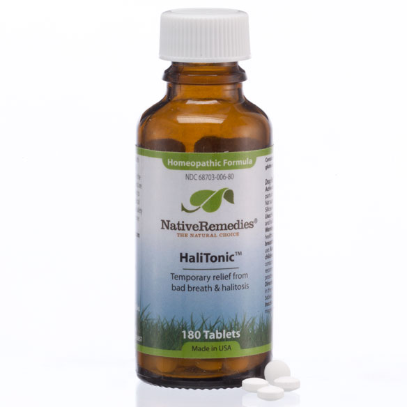 NativeRemedies® HaliTonic™ - 180 Tablets - View 3
