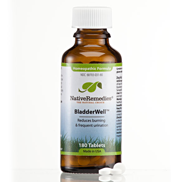 NativeRemedies® BladderWell™ Tablets - 180 Tablets - View 3