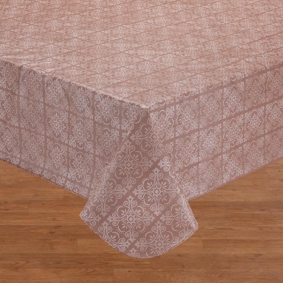 Tonal Medallion Vinyl Table Cover - View 2