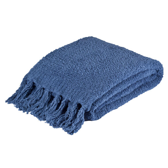The Cozy Chenille Throw by OakRidge Comforts™ - View 2