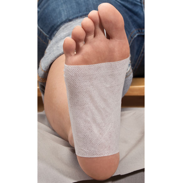 Himalayan Magnetic Salt Foot Detox Patches - Set of 10 - View 2