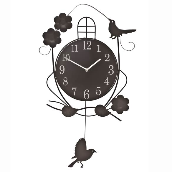Atomic Swinging Bird Pendulum Clock - View 2