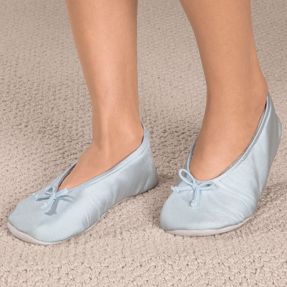 Satin Ballet Slippers - View 2