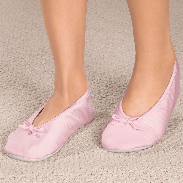 Satin Ballet Slippers - View 3