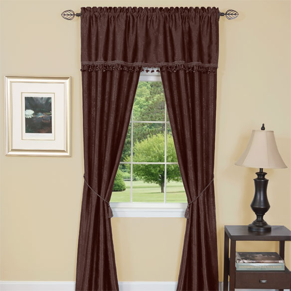 Energy Saving One Rod Window Treatment - View 3