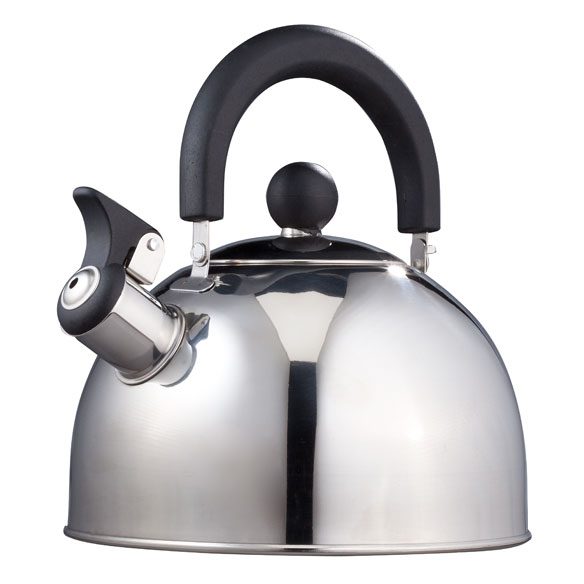 Stainless Steel Whistling Tea Kettle by Home-Style Kitchen™ - View 2