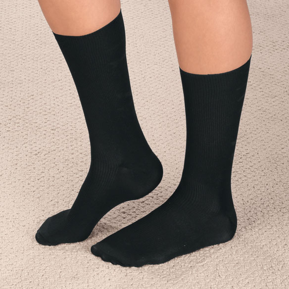 Therapeutic Support Dress Socks - View 2