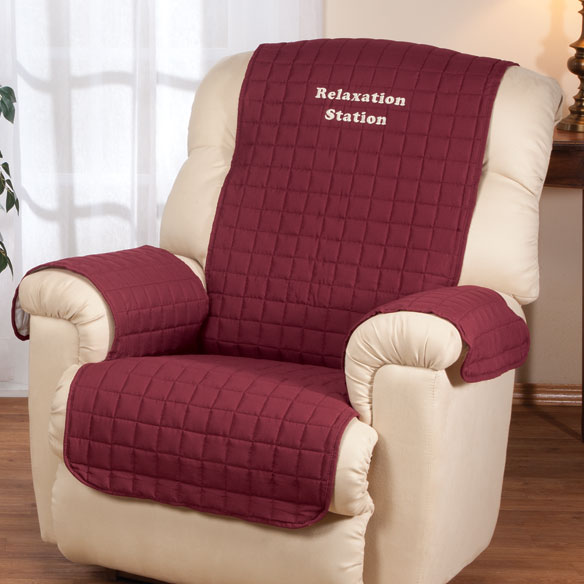 Personalized Warm Color Recliner Cover by OakRidge™ Comforts - View 2