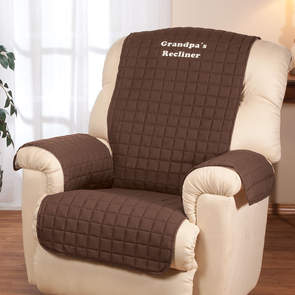Personalized Warm Color Recliner Cover by OakRidge™ Comforts - View 3