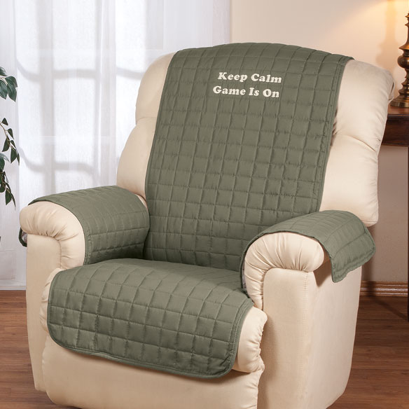 Personalized Warm Color Recliner Cover by OakRidge Comforts™ - View 4