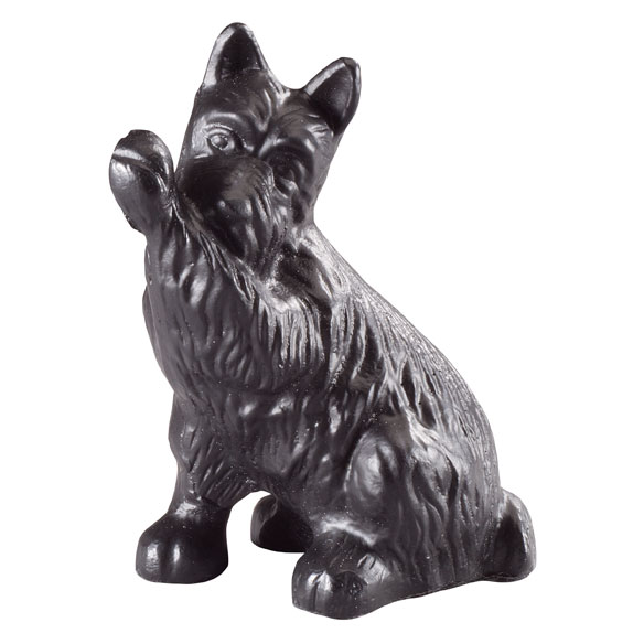 Cast Iron Dog Doorstop - View 2