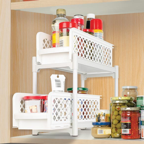 2-Tier Sliding Shelves - View 2
