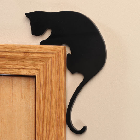 Cat Door Frame Sitters - Set of 2 - View 2