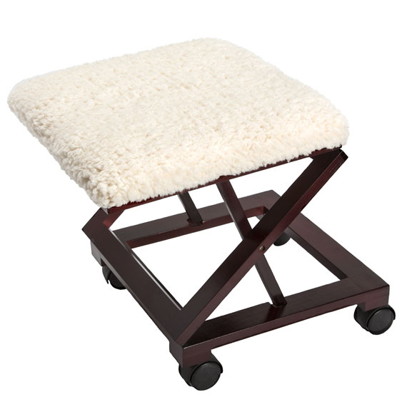 Sherpa Wooden Footrest by OakRidge Accents™ - View 3