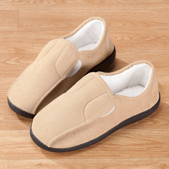 Easy-On Soft Memory Foam Slippers - View 2