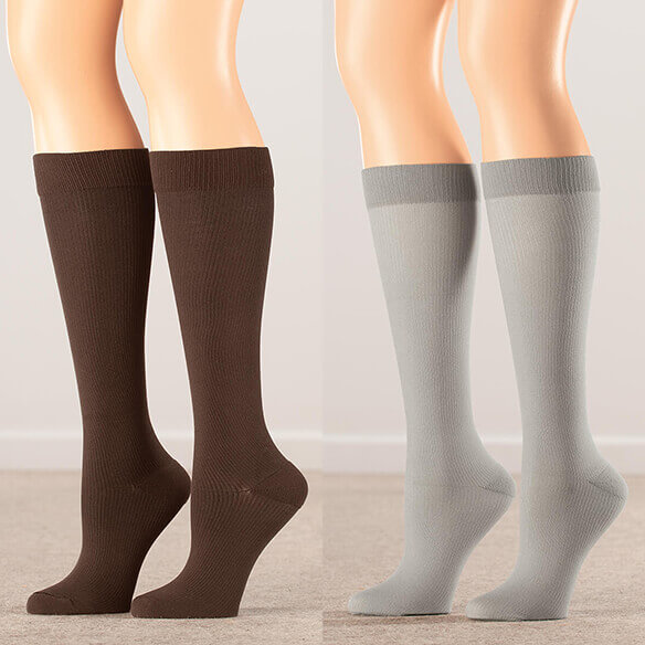 Healthy Steps™ Compression Socks 15-20 mmHg - View 3