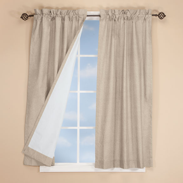 Pole Top Energy Saving Curtains - View 2