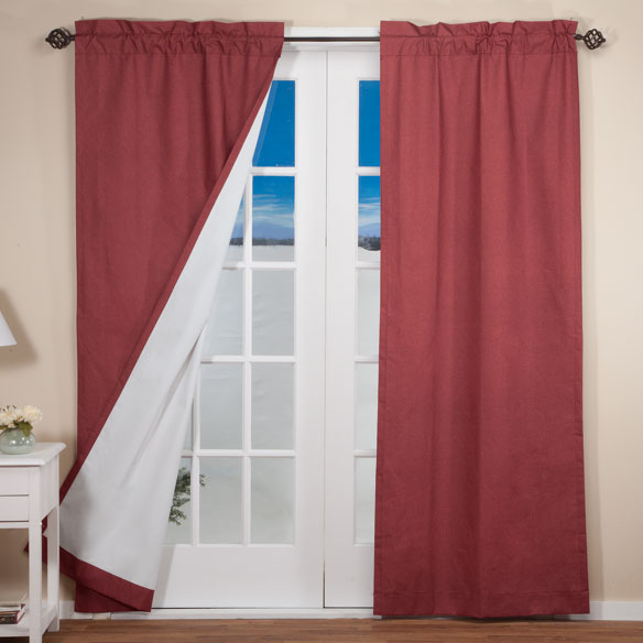 Pole Top Energy Saving Curtains - View 3
