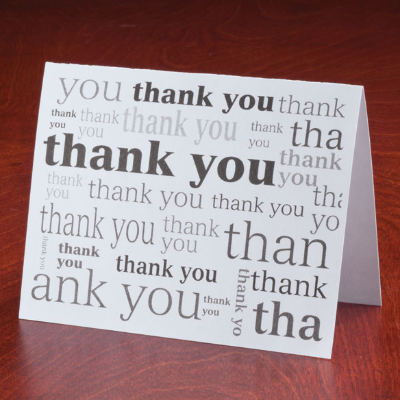 Many Thanks Note Cards, Set of 25 - View 5