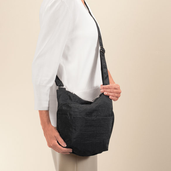 Triple Zip Crossbody Bag - View 3