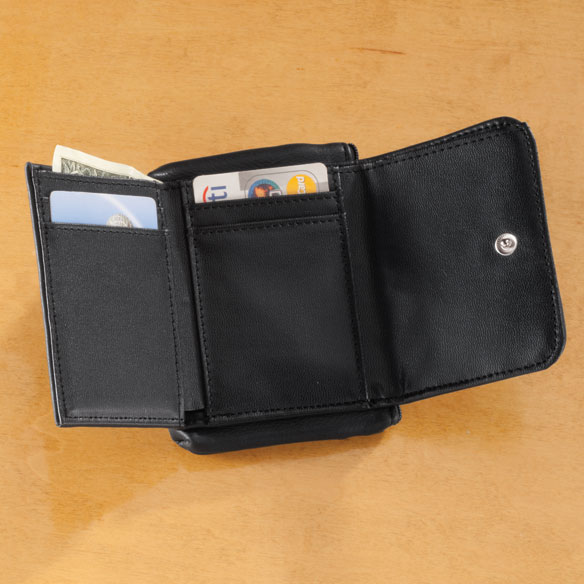 Personalized RFID Pebble Wallet - View 3