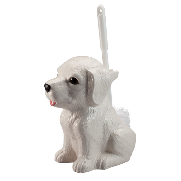 Dog Toilet Brush Holder - View 2